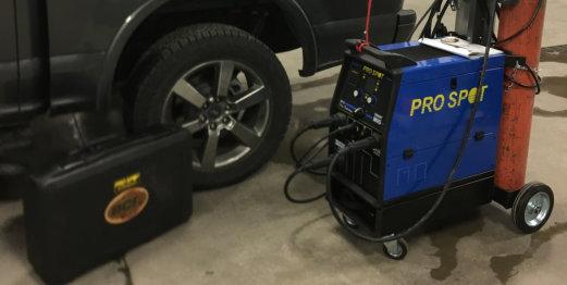 car fixing equipment